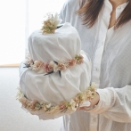 新潟県燕市 ドライフラワー専門店 Tette テッテ オムツケーキ 出産祝い